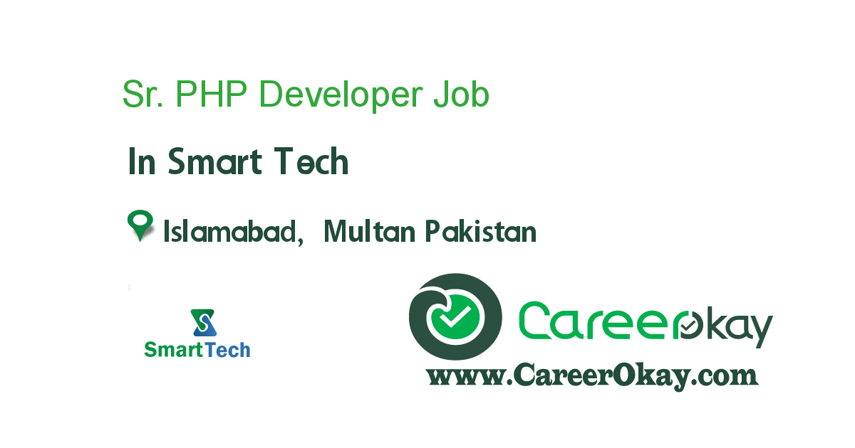 Sr. PHP Developer