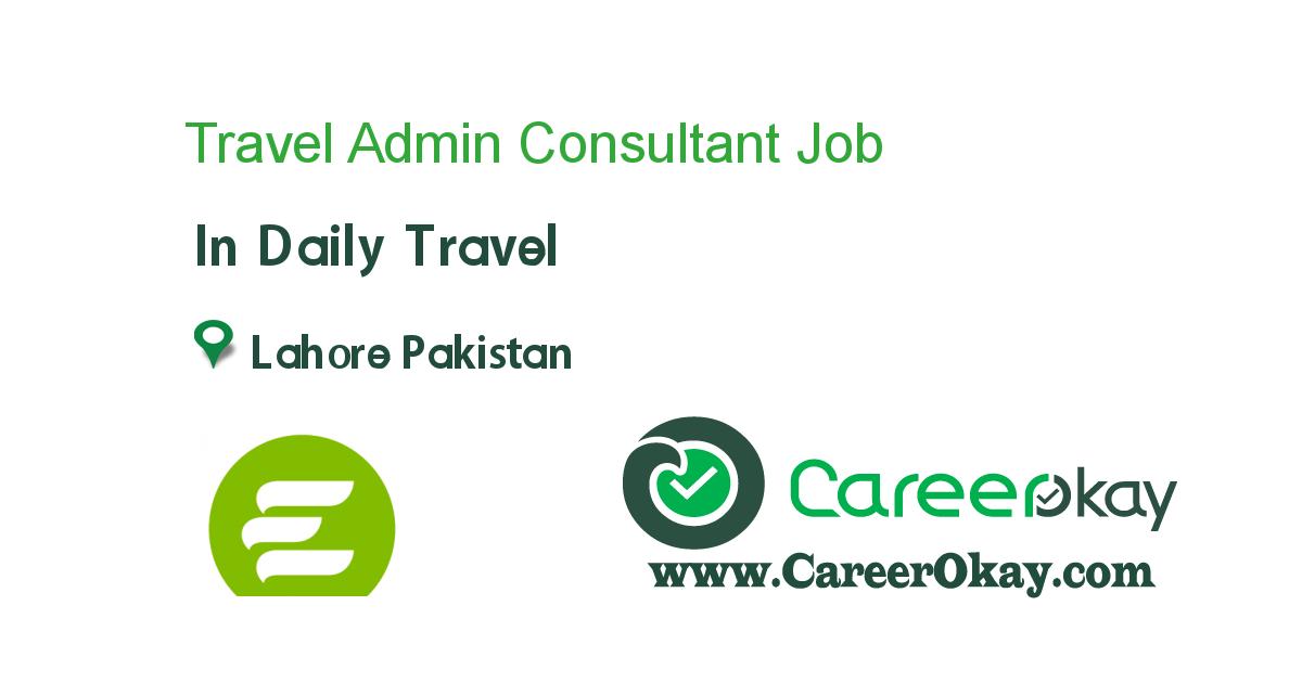 Travel Admin Consultant