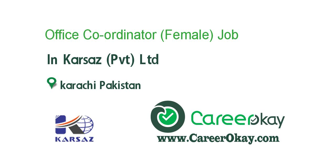 Office Co-ordinator (Female)