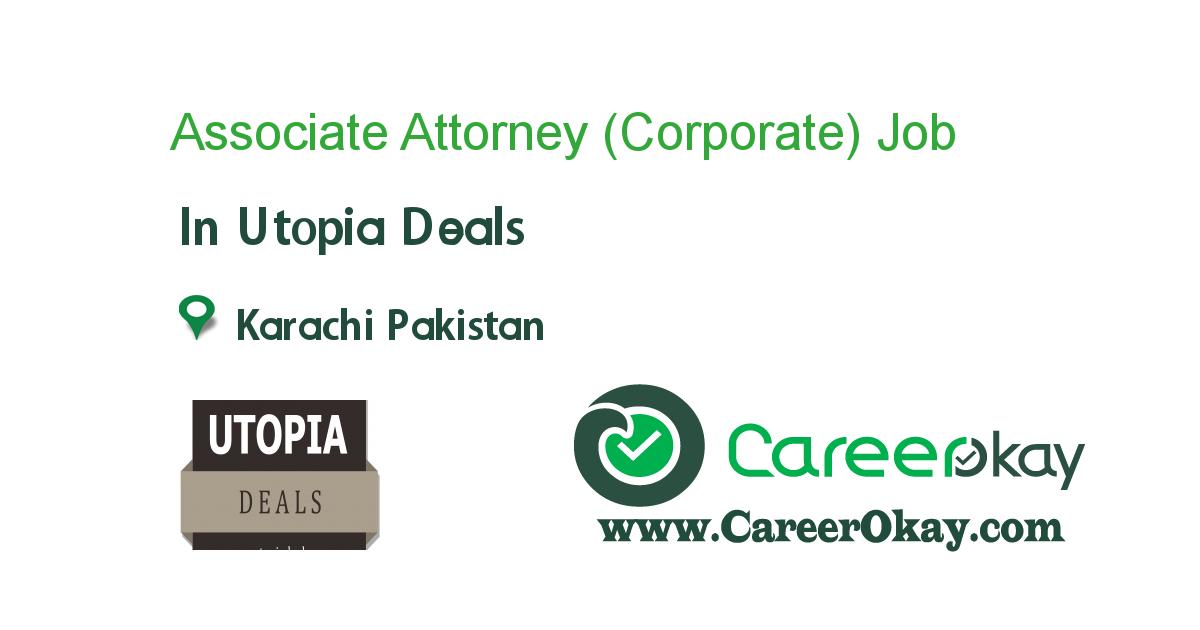 Associate Attorney (Corporate)
