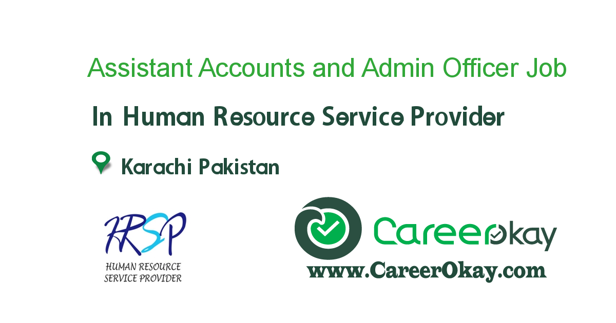 Assistant Accounts and Admin Officer