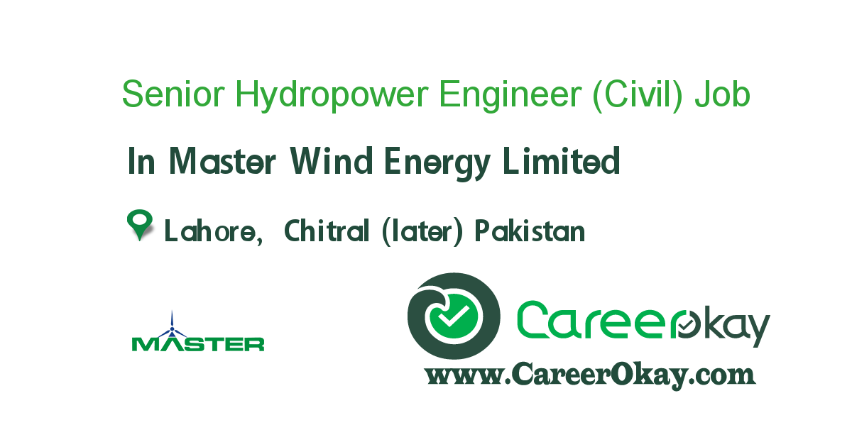 Senior Hydropower Engineer (Civil)