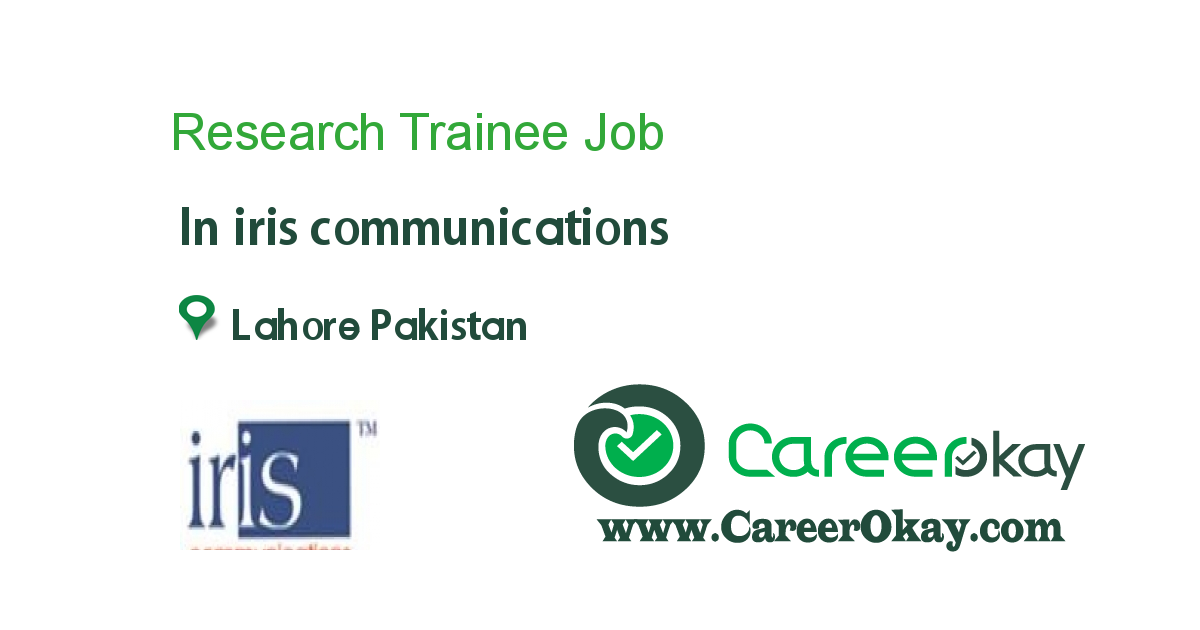 Research Trainee