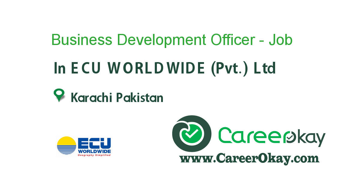 Business Development Officer - (Imports-LCL)