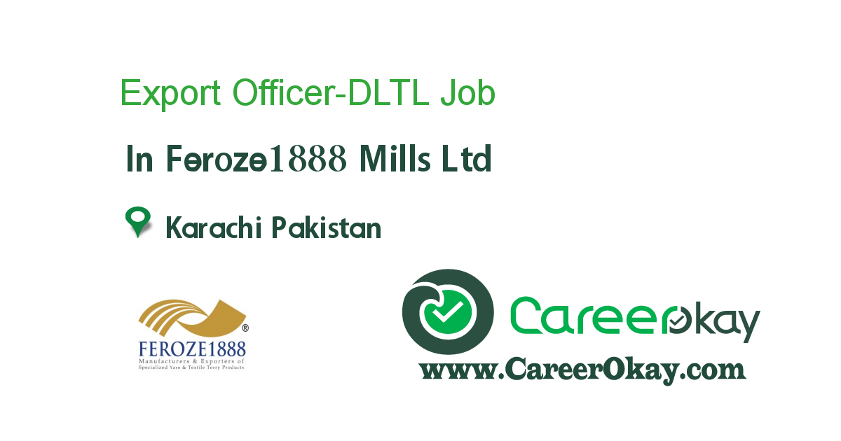 Export Officer-DLTL