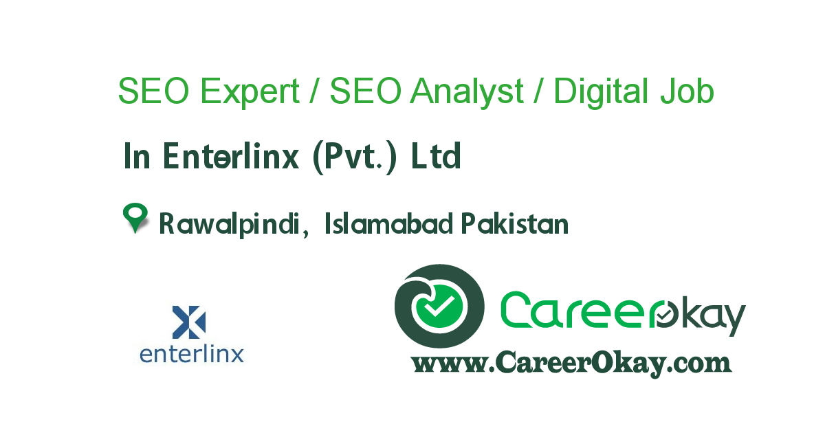 SEO Expert / SEO Analyst / Digital Marketing Expert