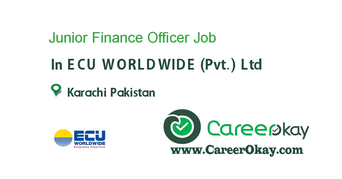 Junior Finance Officer