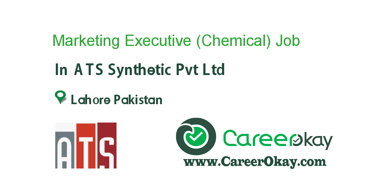 Marketing Executive (Chemical) job in ATS Synthetic Pvt Ltd in