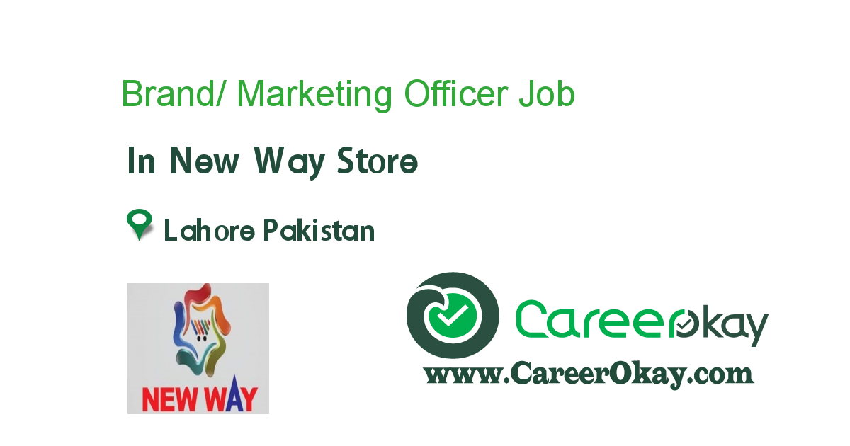 Brand/ Marketing Officer