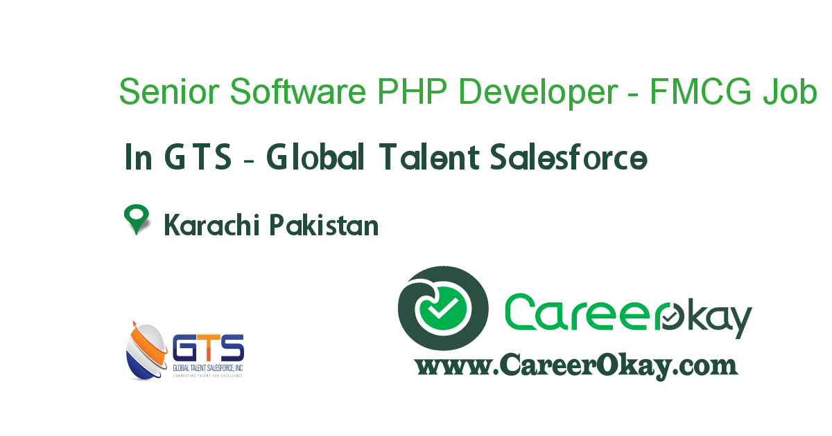 Senior Software PHP Developer - FMCG