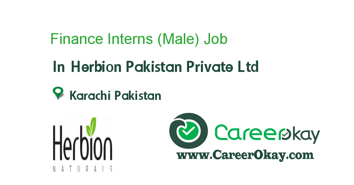 Finance Interns (Male)