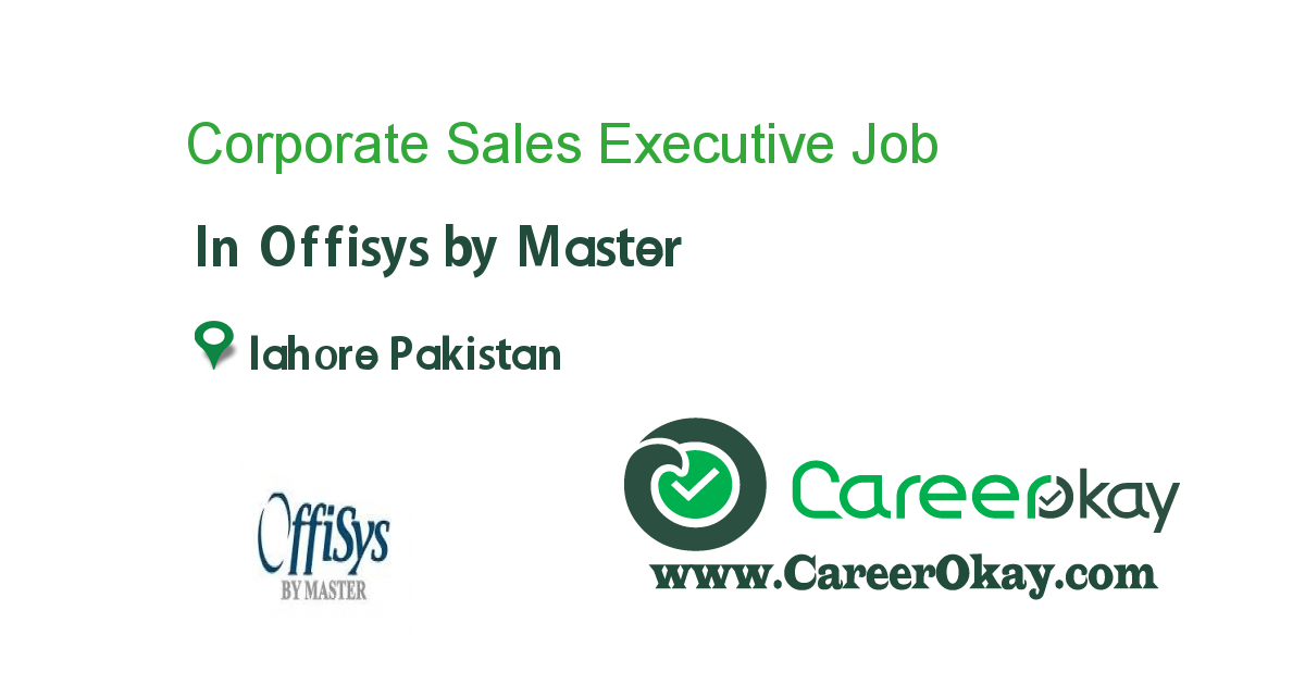 Corporate Sales Executive