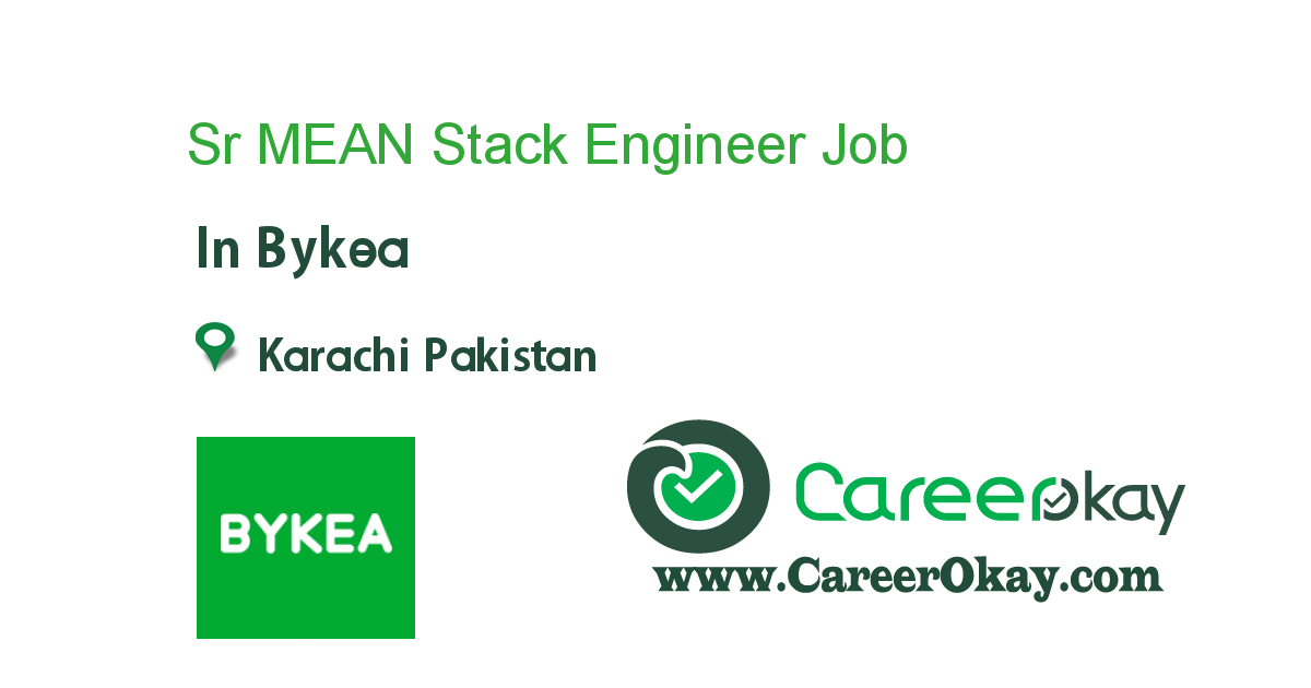 Sr MEAN Stack Engineer