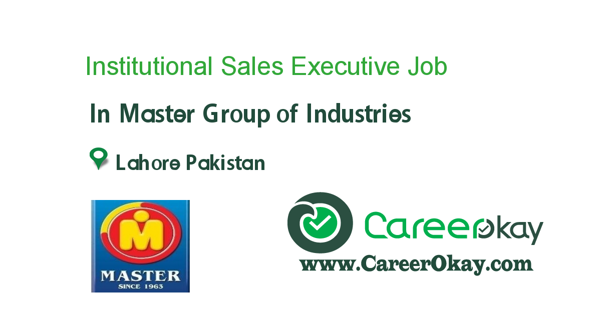 Institutional Sales Executive