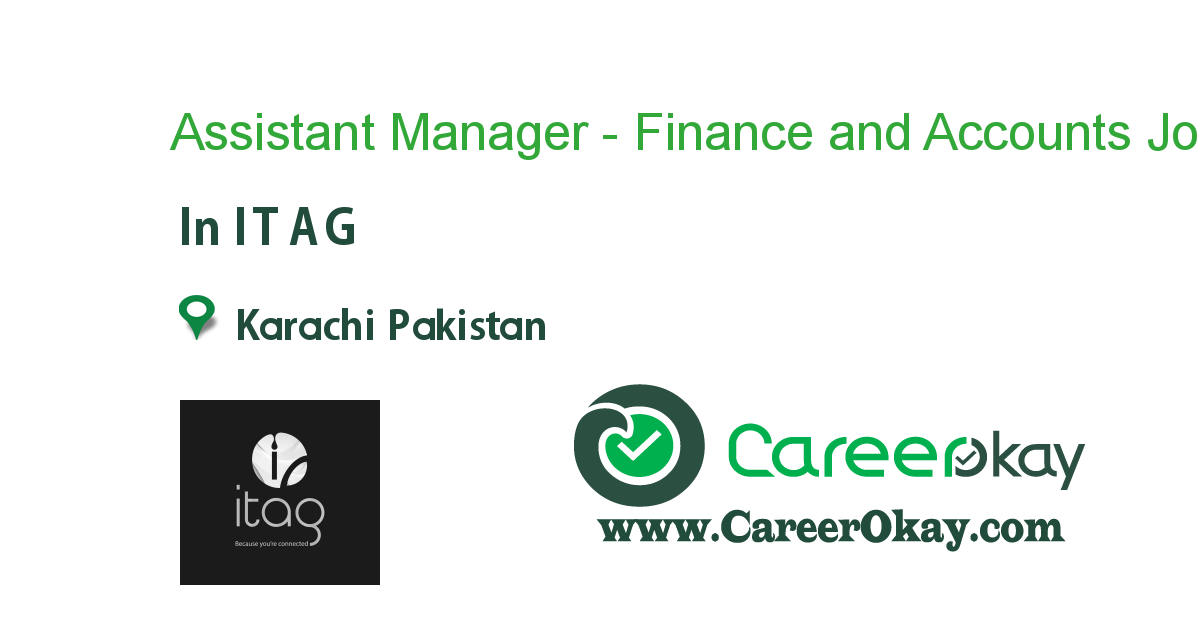 Assistant Manager - Finance and Accounts