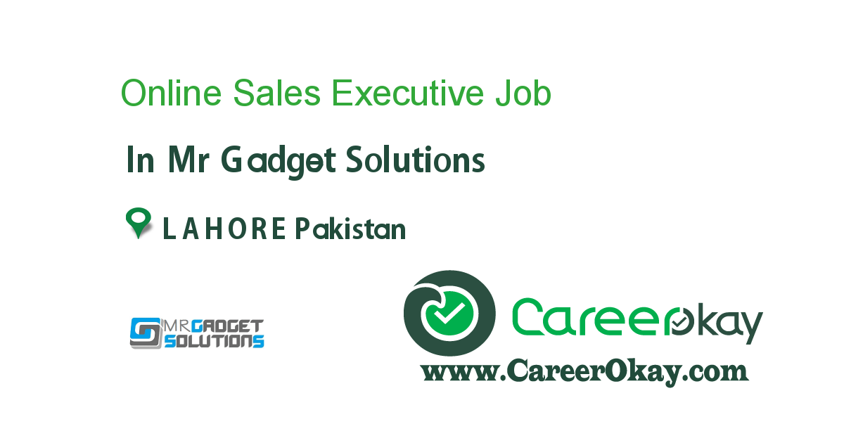 Online Sales Executive