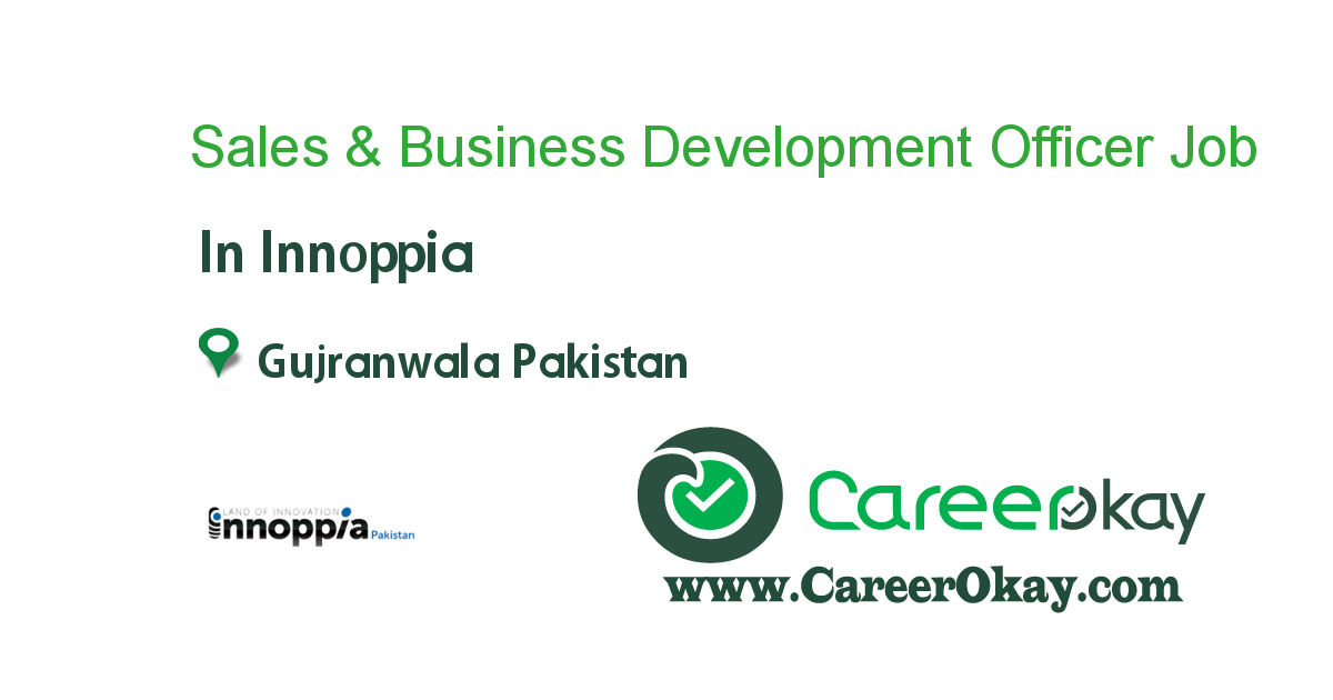 Sales & Business Development Officer