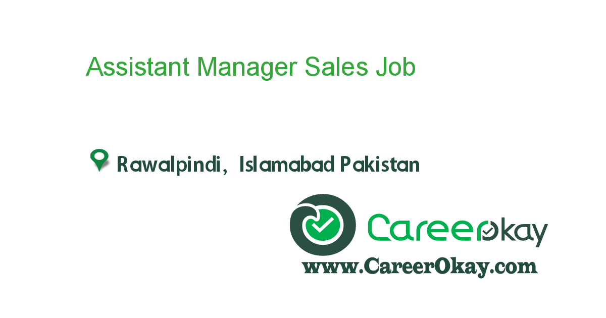 Assistant Manager Sales