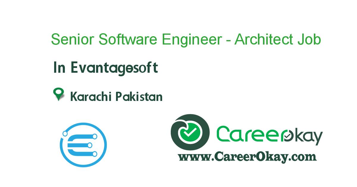 Senior Software Engineer - Architect
