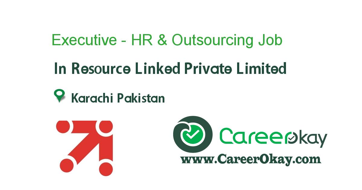 Executive - HR & Outsourcing