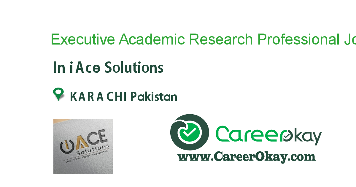 Executive Academic Research Professional