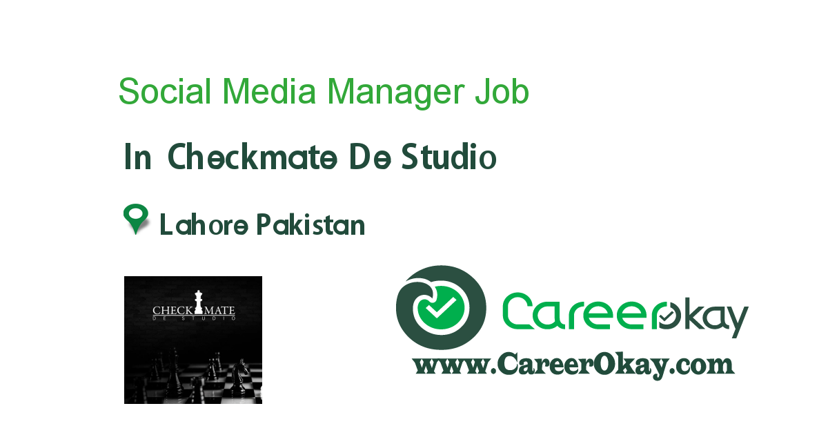 Social Media Manager / Content Writer (English+Urdu)