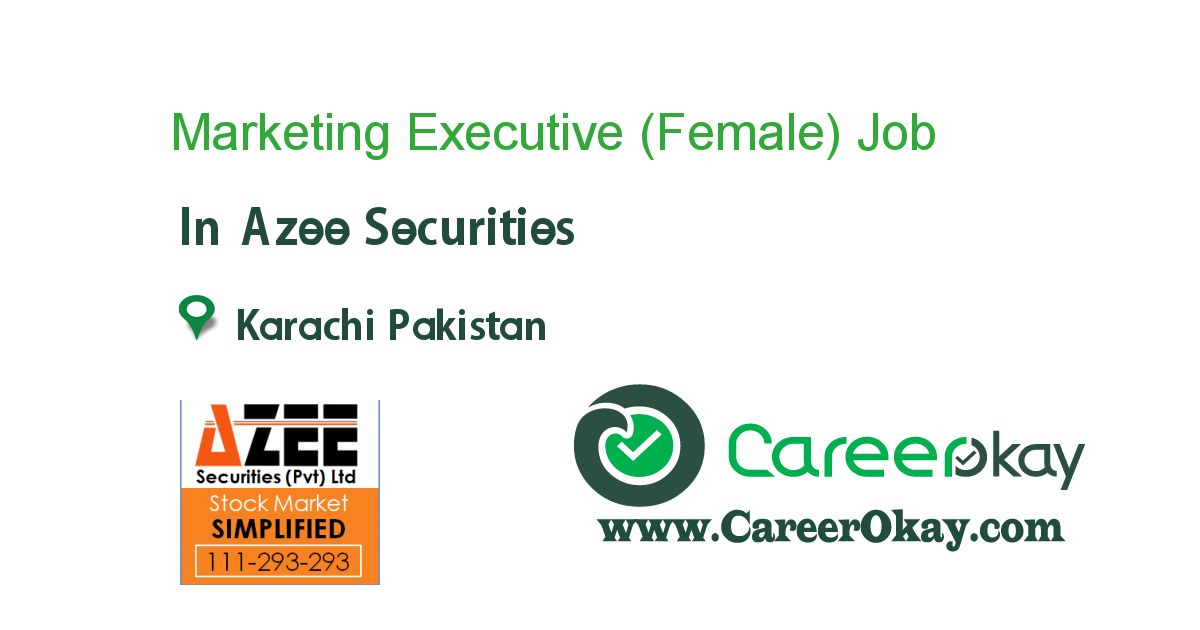 Marketing Executive (Female)