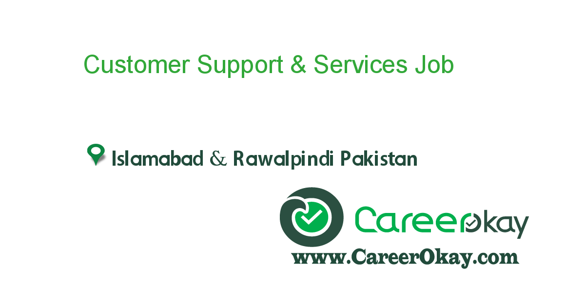 Customer Support & Services
