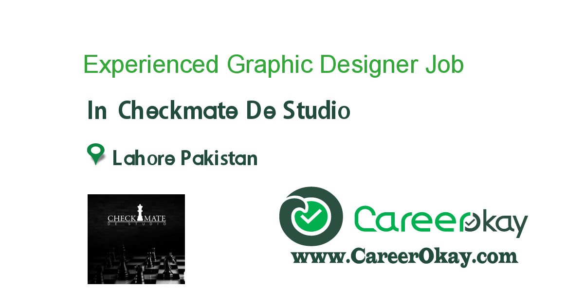 Experienced Graphic Designer