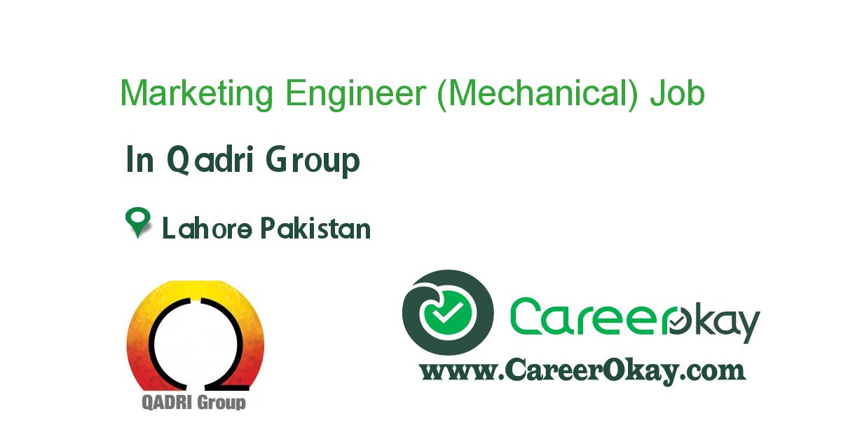 Marketing Engineer (Mechanical)