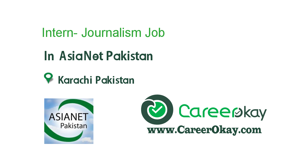 Intern- Journalism