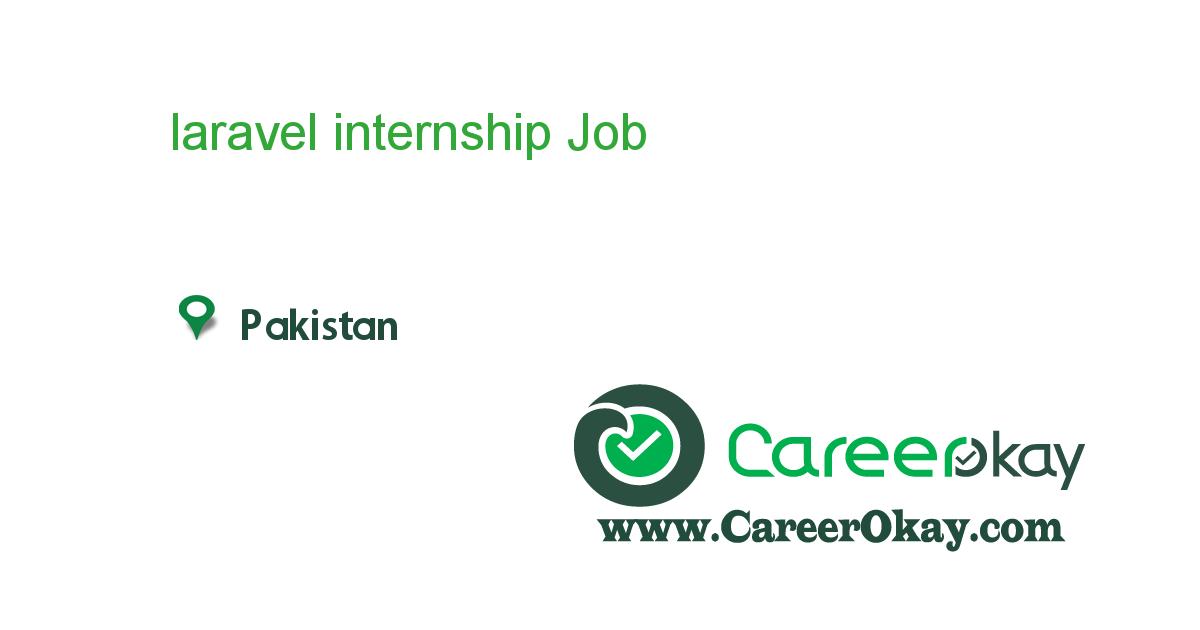 laravel internship