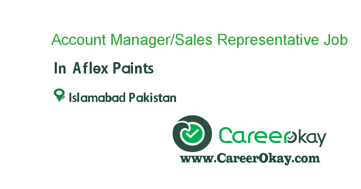 Account Manager/Sales Representative