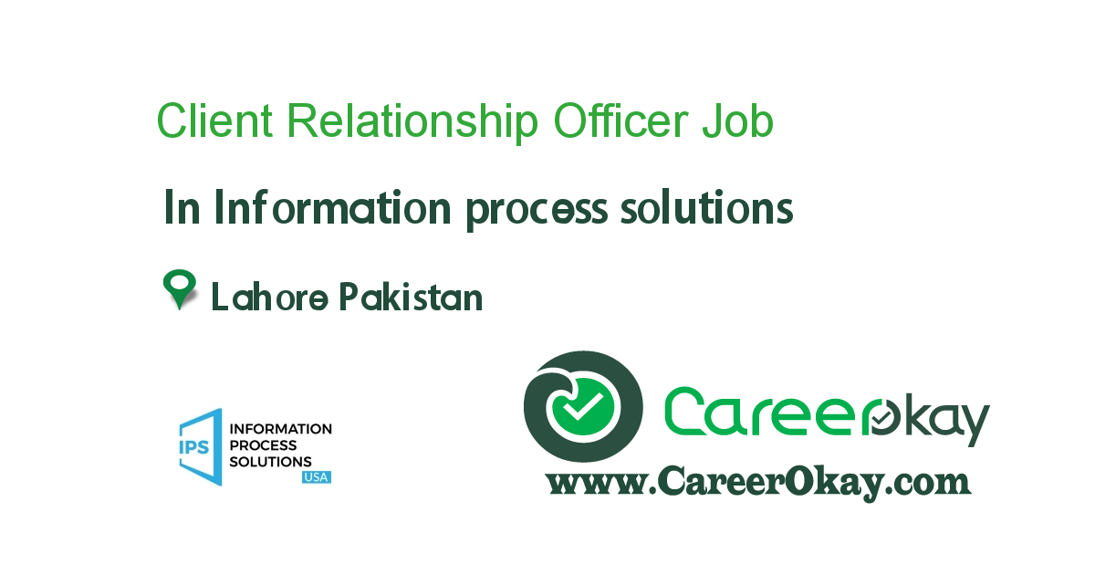 Client Relationship Officer