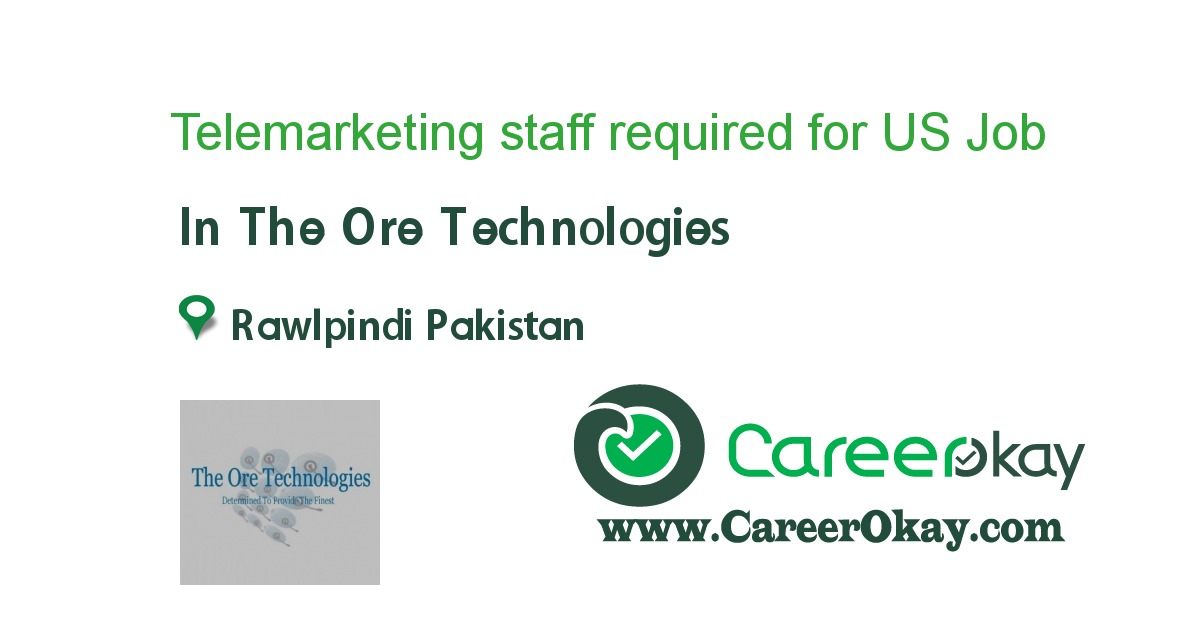 Telemarketing staff required for US BASED Compaigns