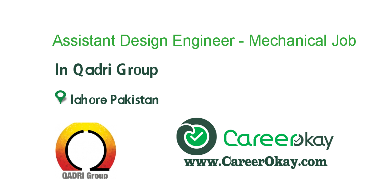 Assistant Design Engineer - Mechanical