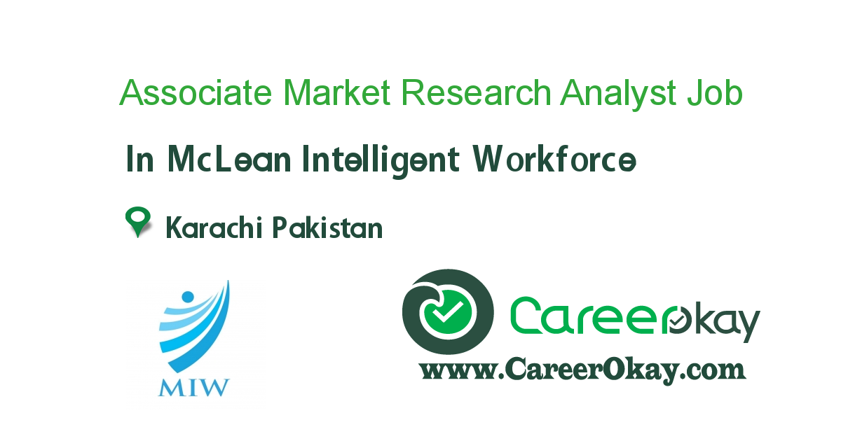 Associate Market Research Analyst