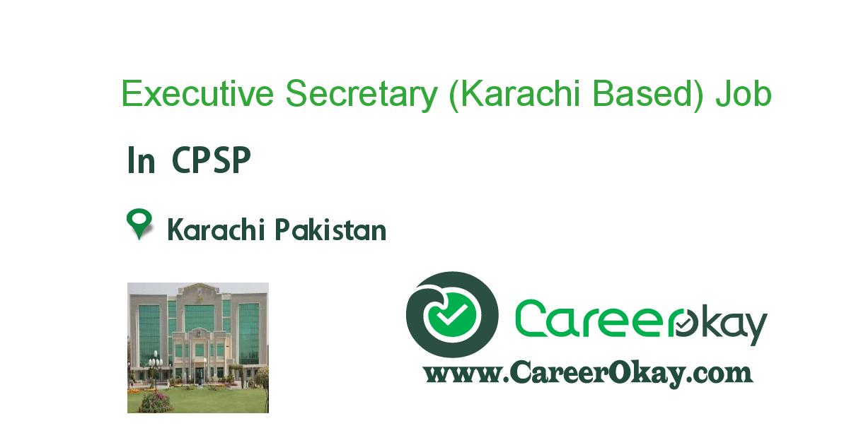 Executive Secretary (Karachi Based)