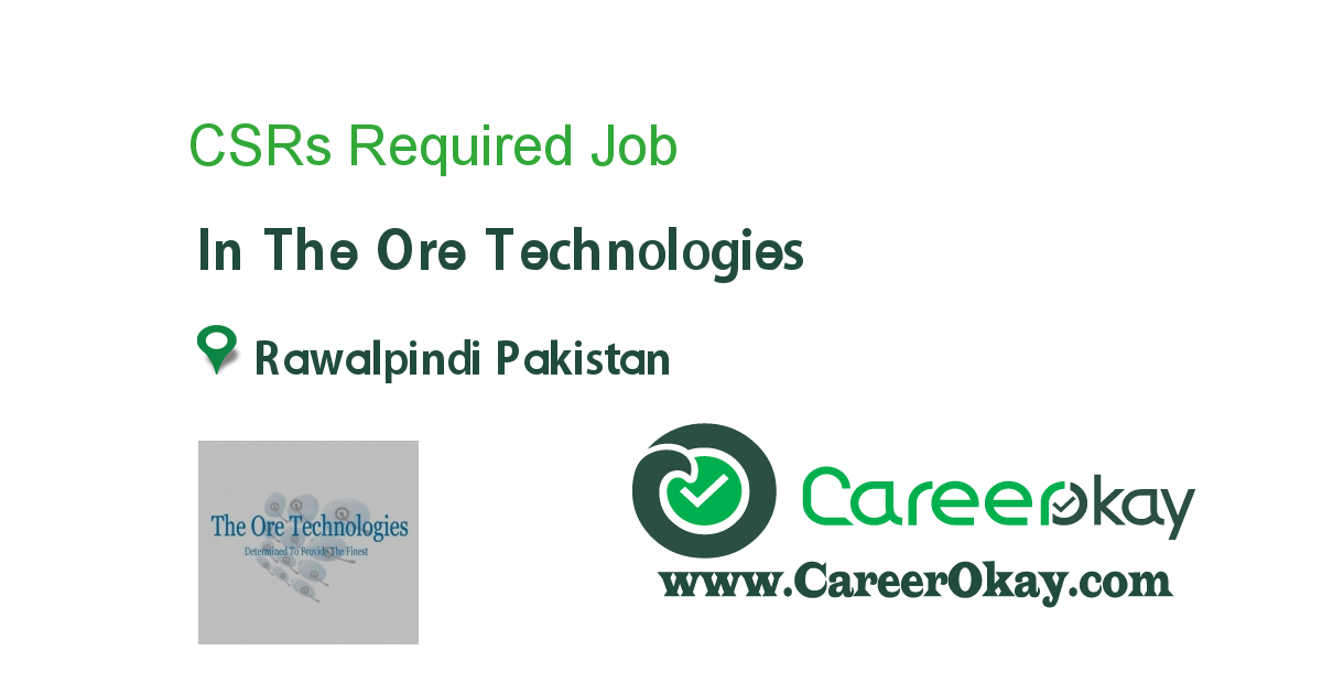 CSRs Required