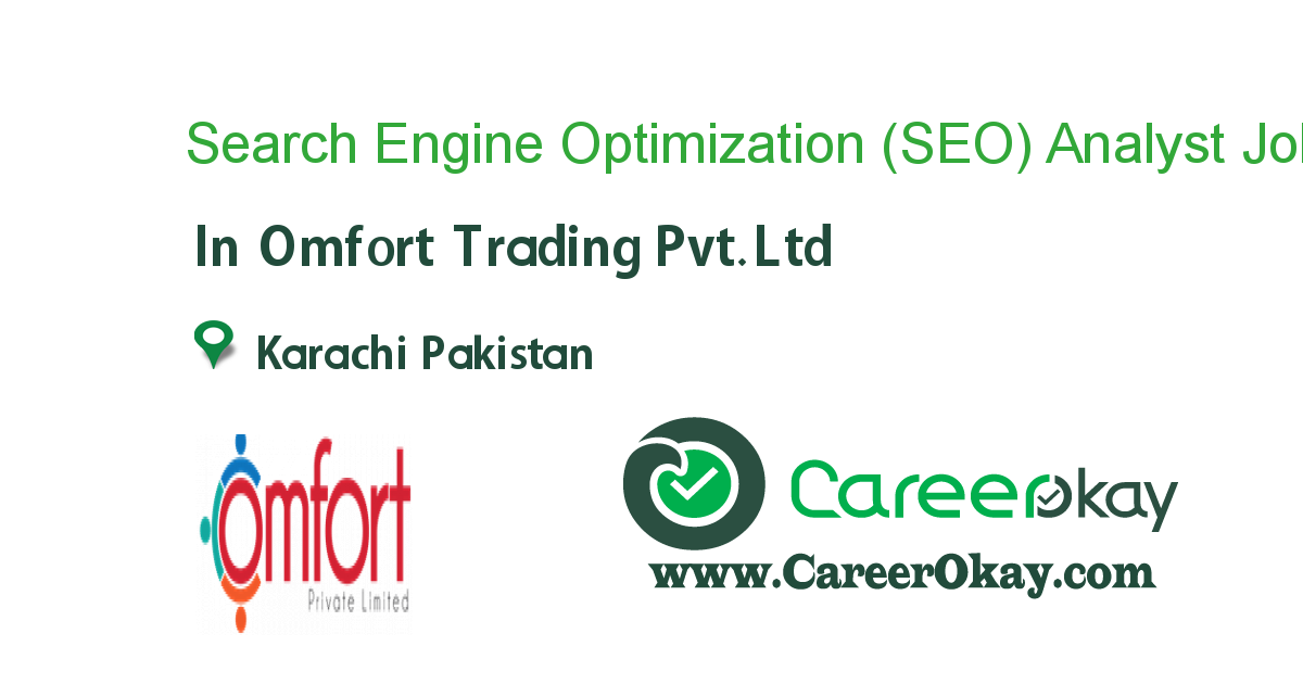 Search Engine Optimization (SEO) Analyst