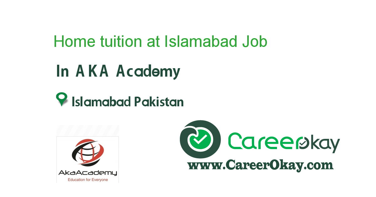 Home tuition at Islamabad