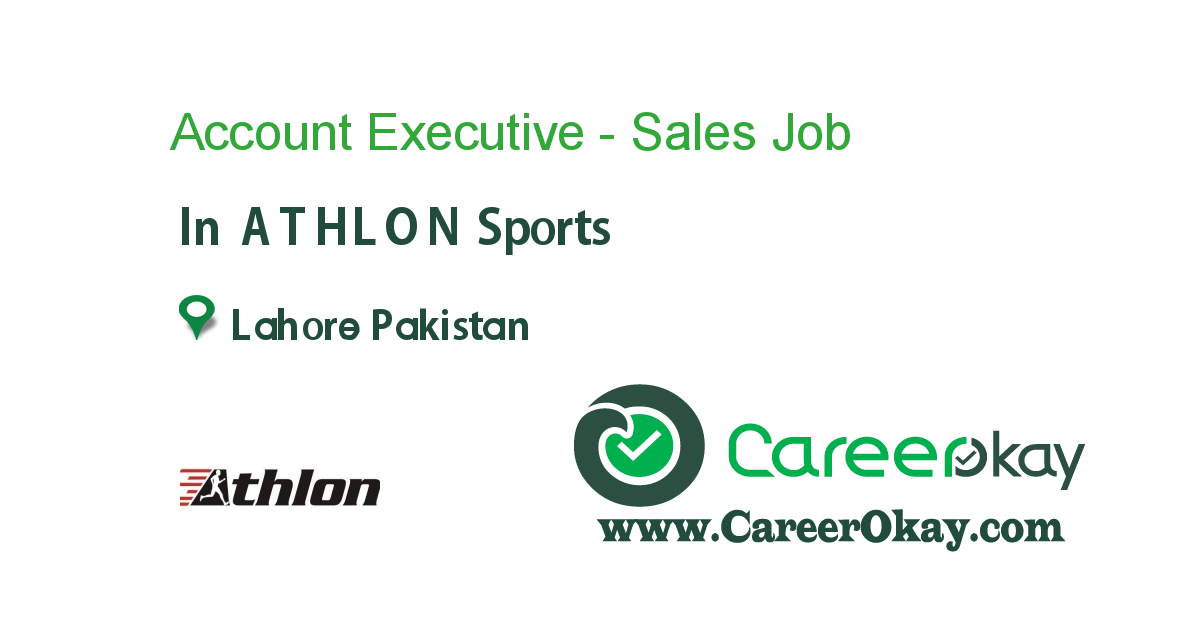 Account Executive - Sales