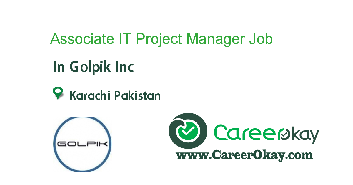 Associate IT Project Manager