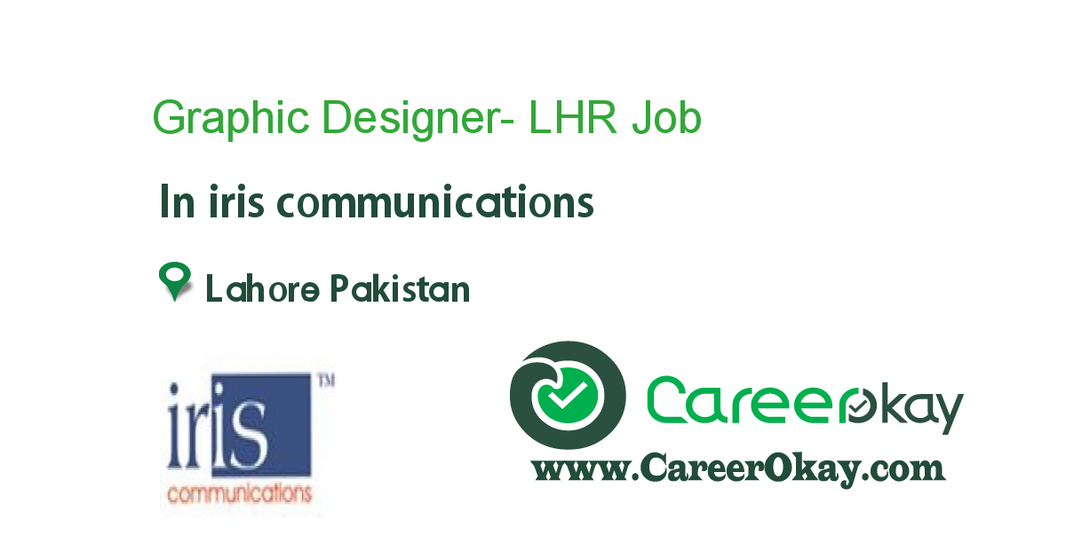 Graphic Designer- LHR
