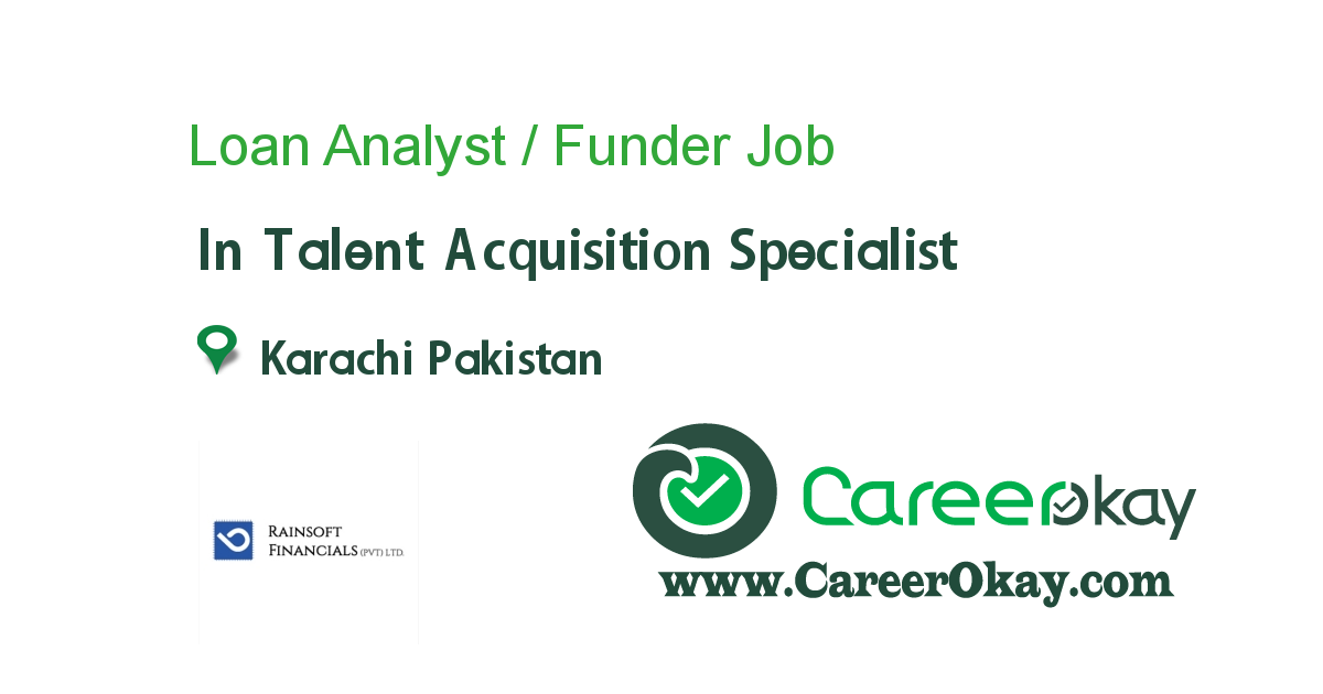 Loan Analyst / Funder