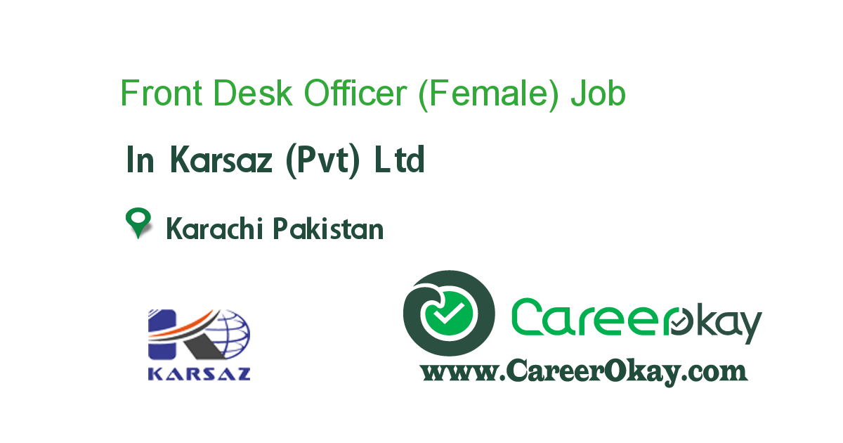 Front Desk Officer (Female)