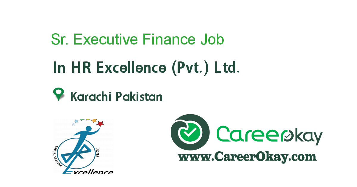 Sr. Executive Finance