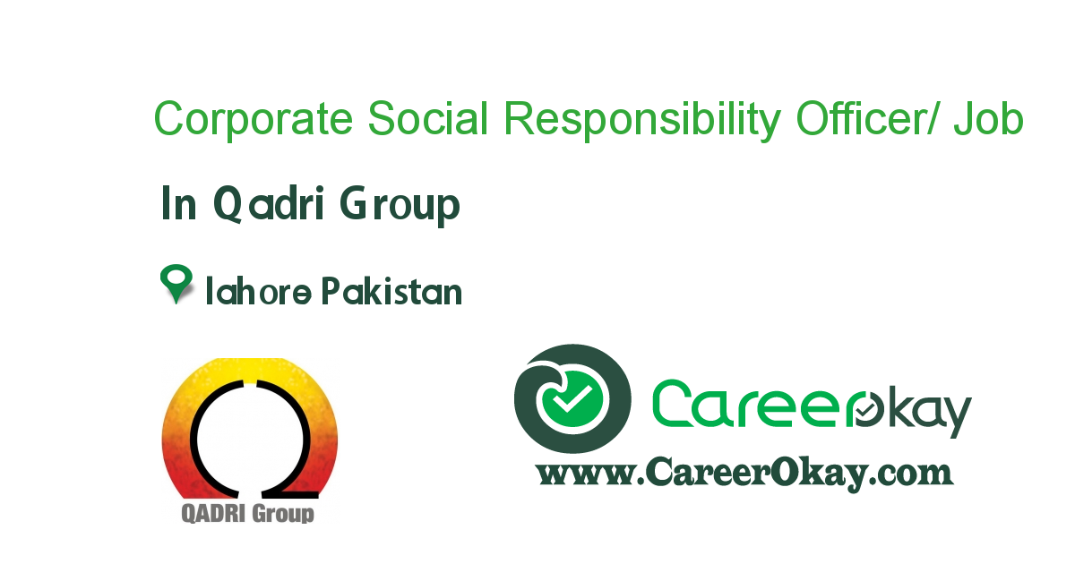 Corporate Social Responsibility Officer/ PA to CEO- Female