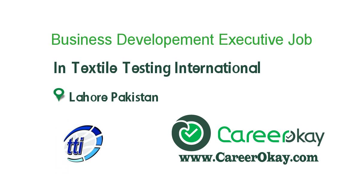 Business Developement Executive