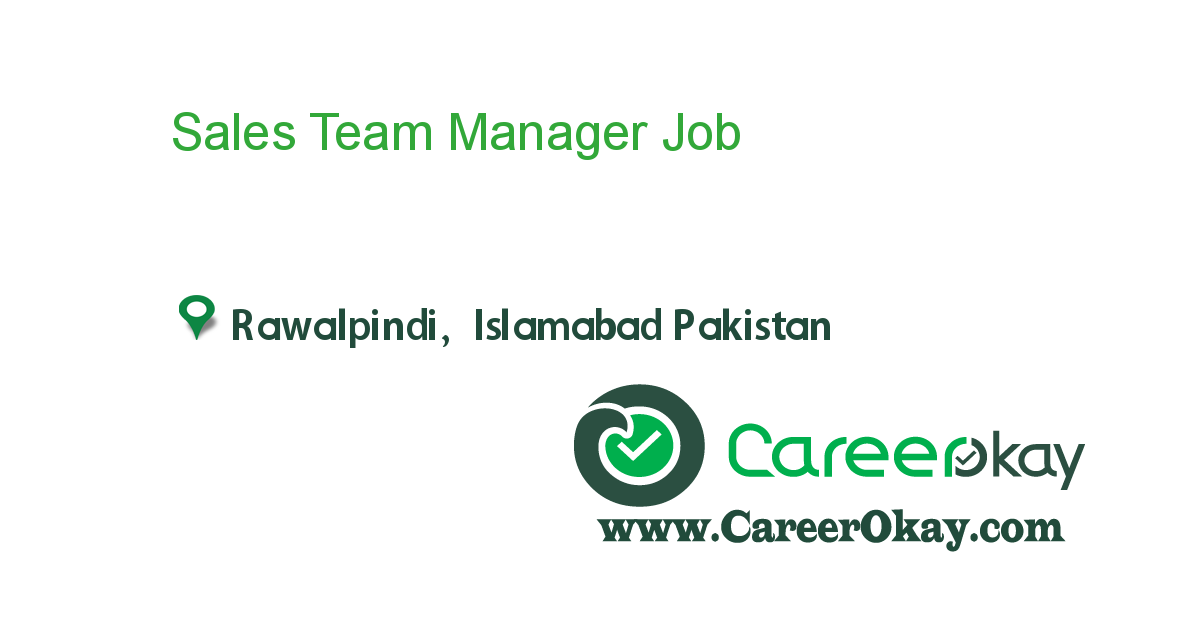 Sales Team Manager